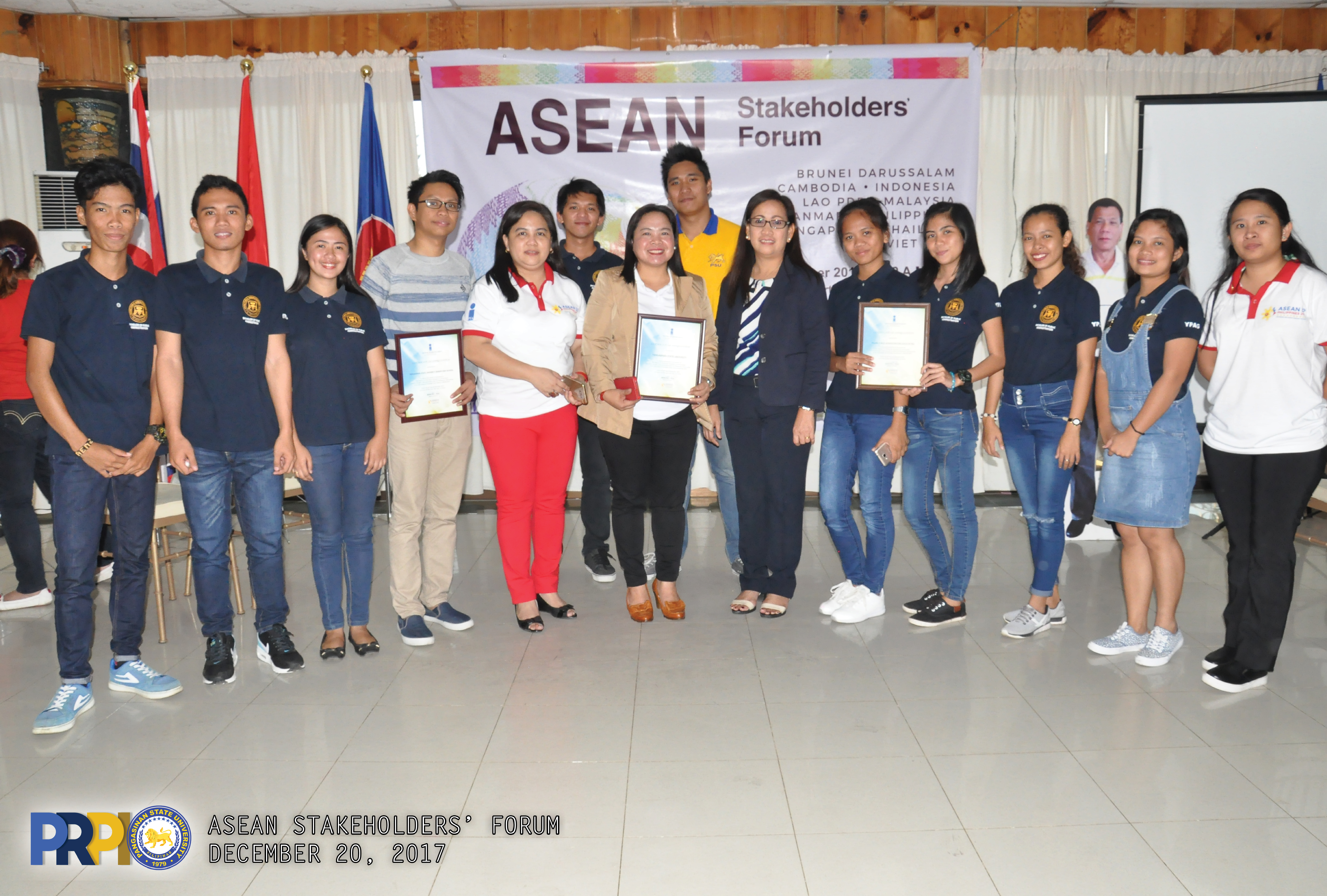 PIA recognizes PSU's support to ASEAN Advocacy » Pangasinan