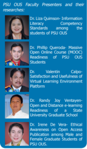 Faculty researchers highlight PSU's e-learning system